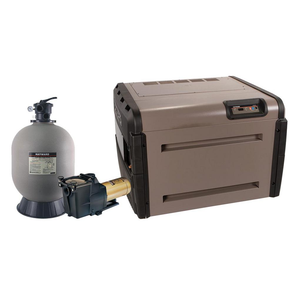 Hayward h series 250 000 btu in ground propane pool heater - Hayward pool equipment ...