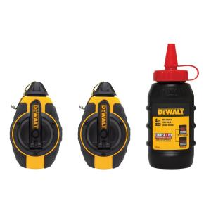 Dewalt 100 ft. Chalk Reel with Chalk by DEWALT