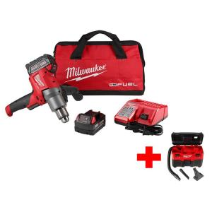 Milwaukee M18 FUEL 18-Volt Lithium-Ion Brushless 1/2 inch Cordless Mud Mixer Kit... by Milwaukee