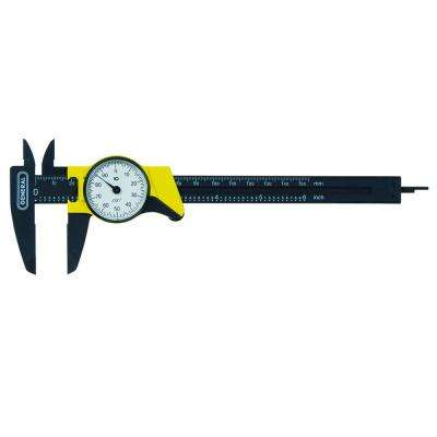 6 in. Single Rotation Dial Caliper