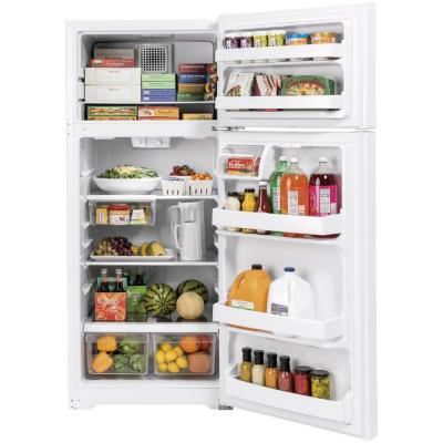 17.5 cu. ft. Top Freezer Refrigerator in White