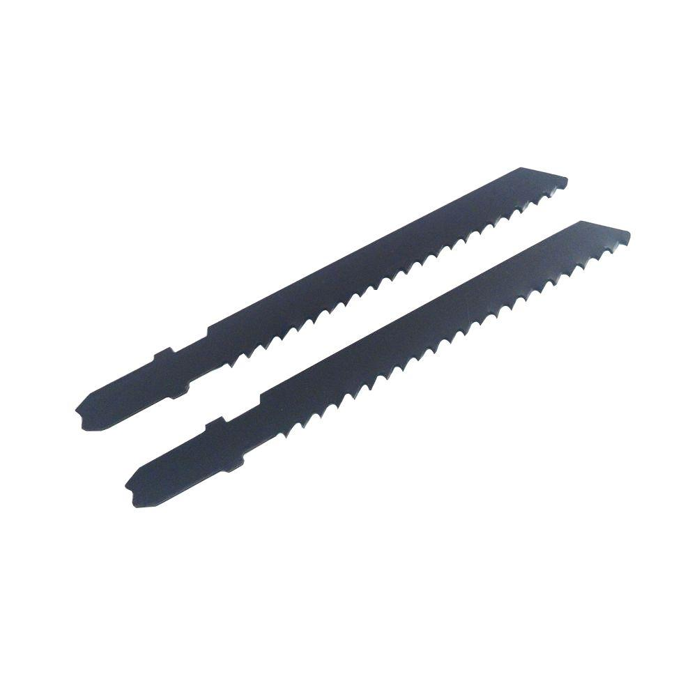 BLU-MOL 3-5/8 in. 8 Teeth per in. Plaster Cutting Carbon Jig Saw Blade (2-Pack)