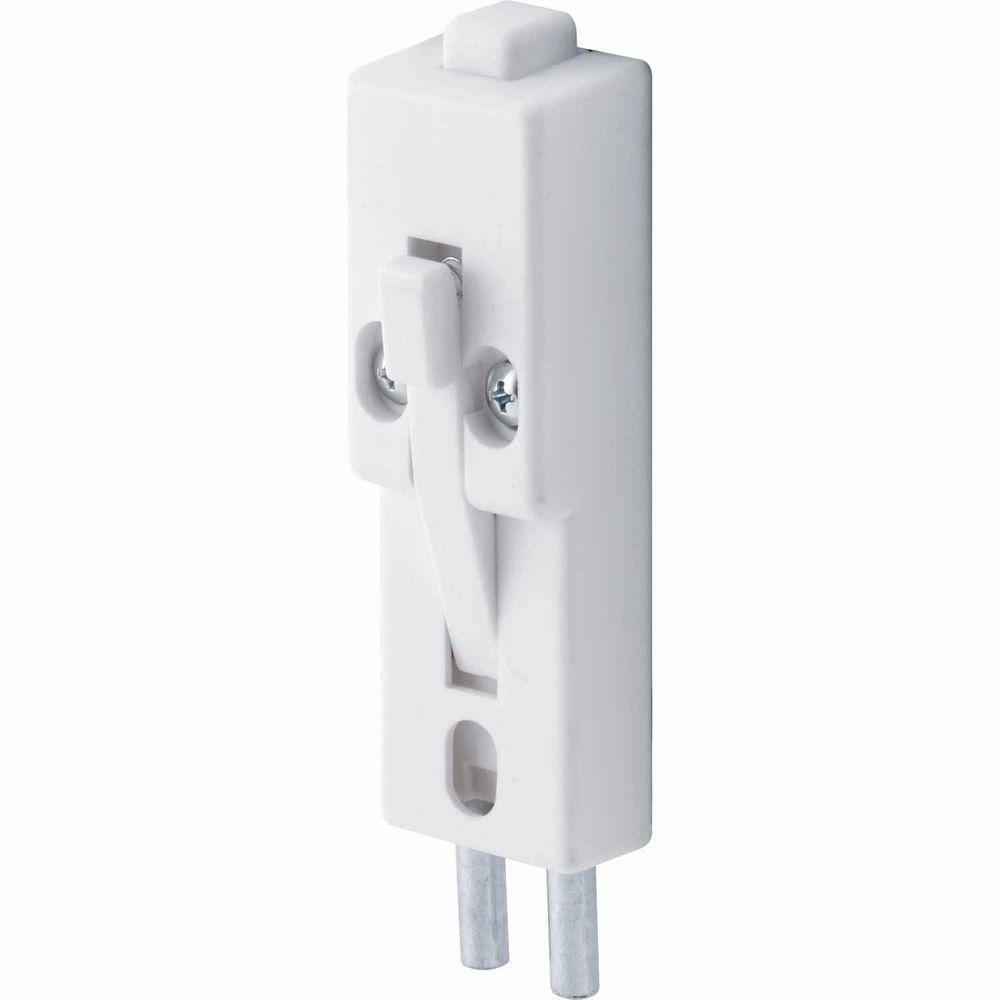 Diameter Patio Door Lock   White
