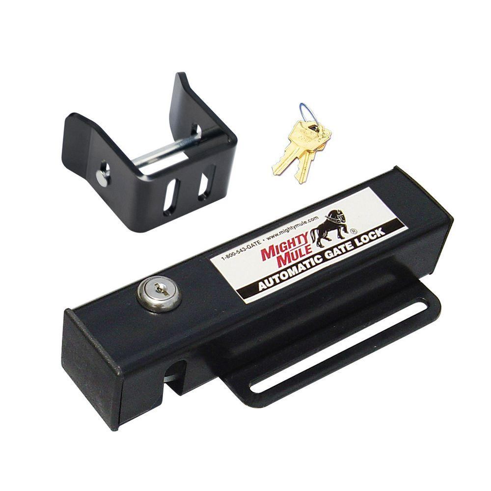 Mighty Mule Automatic Gate Lock for Single and Dual Swing Gate Openers