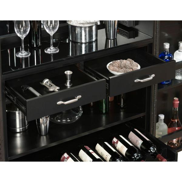 American Heritage Billiards Angelina Black Buffet/Server 600061BLK
