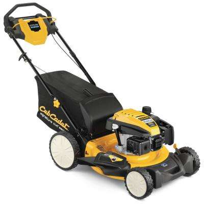 21 in. 159cc Rear-Wheel Drive 3-in-1 High Rear Wheel Gas Self Propelled Walk Behind Lawn Mower
