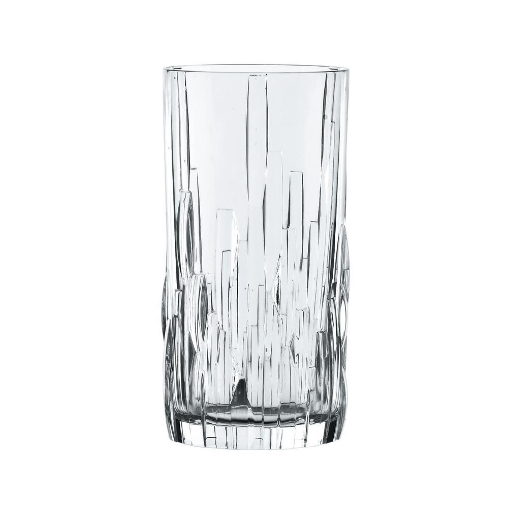 Shu Fa 12.6 oz. Crystal Longdrink (Set of 4)