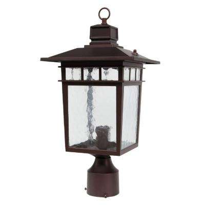 Cullen 1-Light Oil-Rubbed Bronze Outdoor Post Light