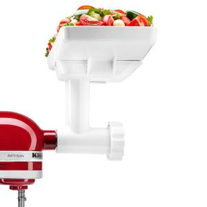 KitchenAid White Food Grinder and Sausage Maker Attachment ...