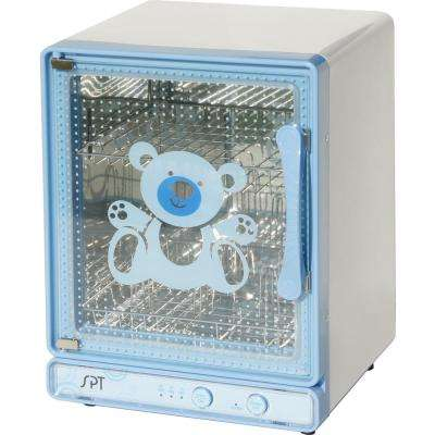 Baby Bottle Sanitizer and Dryer in Blue