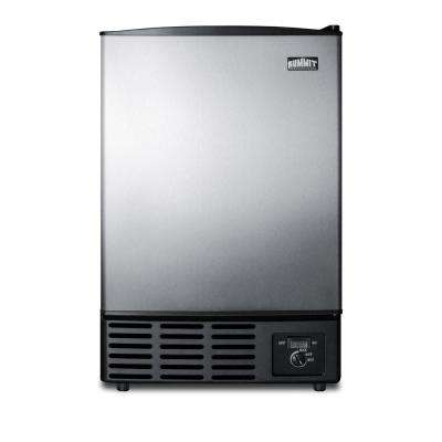12 lb. Built-In Ice Maker in Stainless Steel
