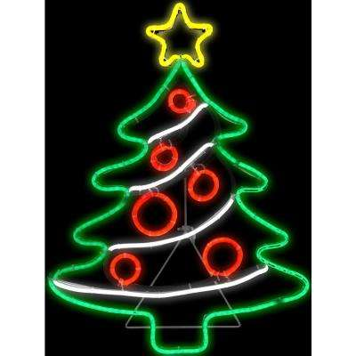 1 ft. H x 2 ft. L Light Glo Christmas Tree