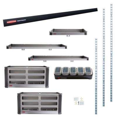 FastTrack Garage Rail Accessory Starter Kit (11-Piece)