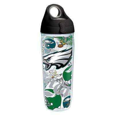 NFL Philadelphia Eagles All Over 24 oz. Double Walled Insulated Water Bottle
