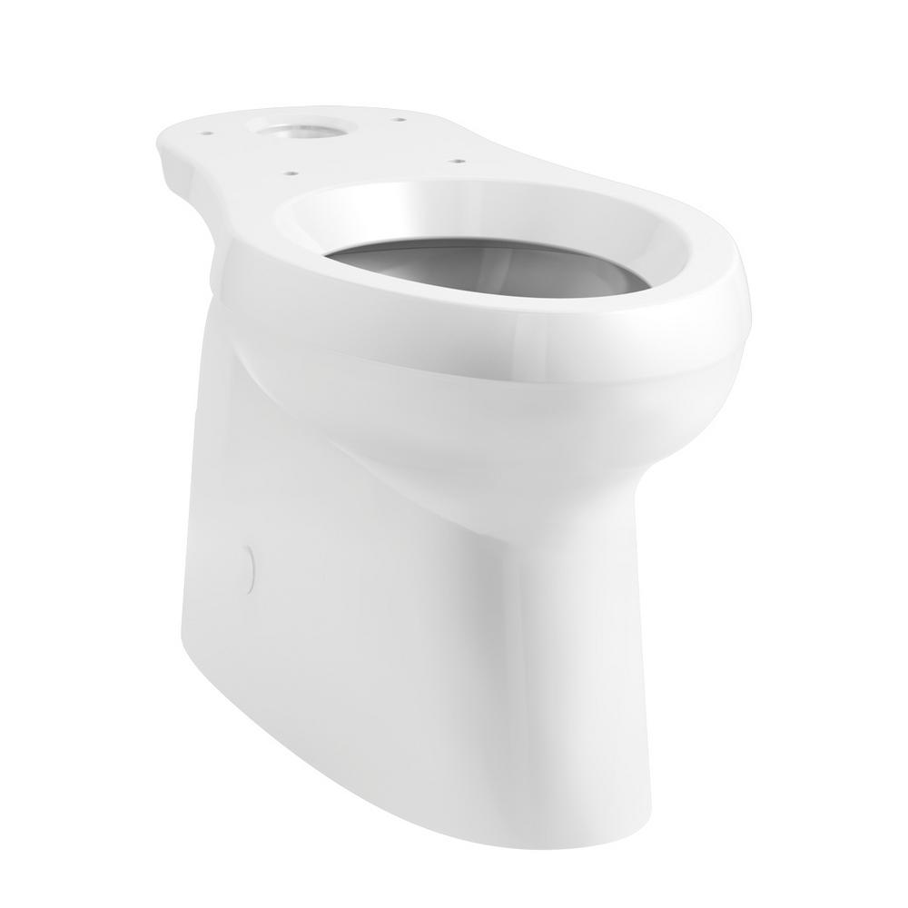 Cimarron Elongated Toilet Bowl Only in White