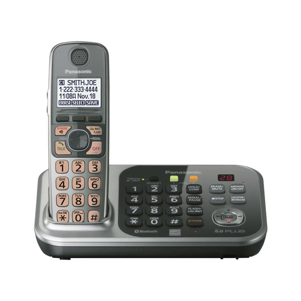 Panasonic DECT 6.0+ Cordless Phone with Digital Answering System and 1 Handset -DISCONTINUED
