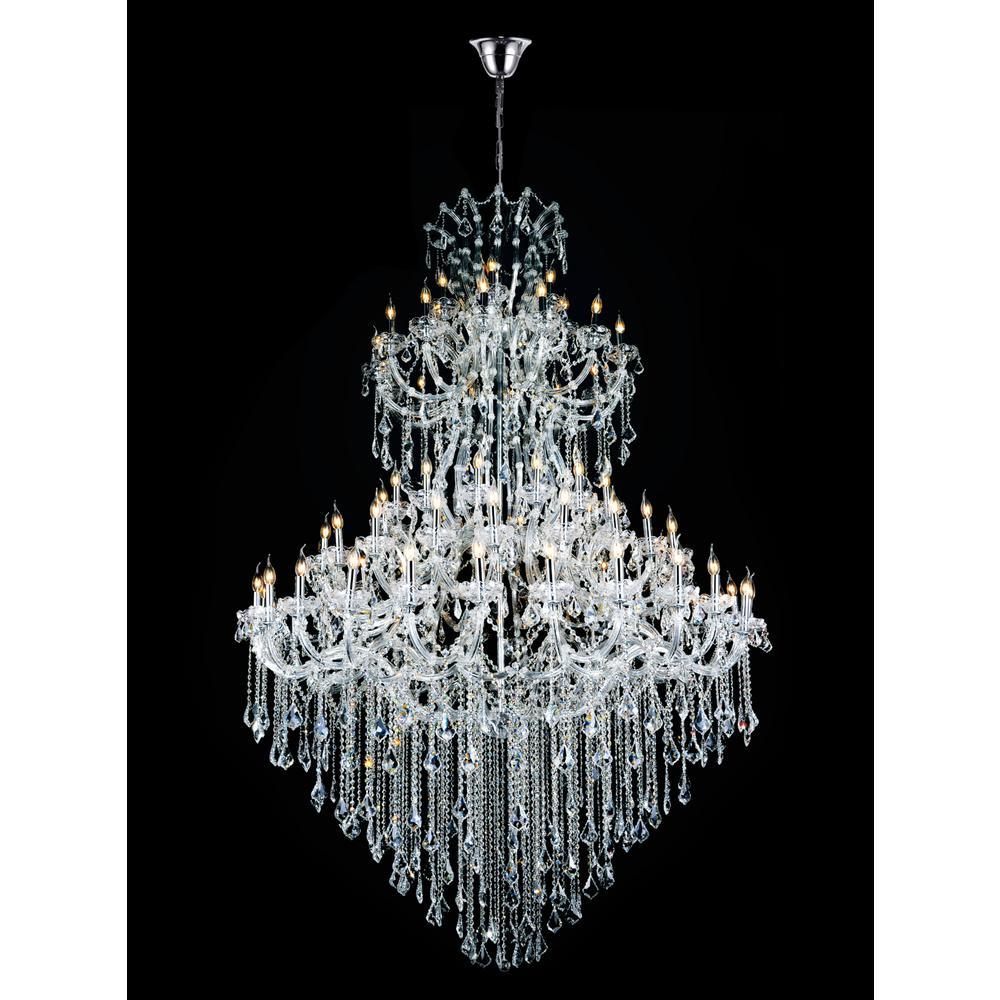 Maria Theresa 84-light chrome chandelier