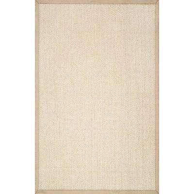 Natural Elaine Chino 8 ft. x 10 ft. Area Rug