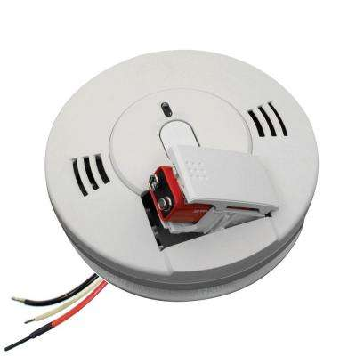 120-Volt Hardwired Inter-Connectable Smoke and Carbon Monoxide Alarm with Battery Backup