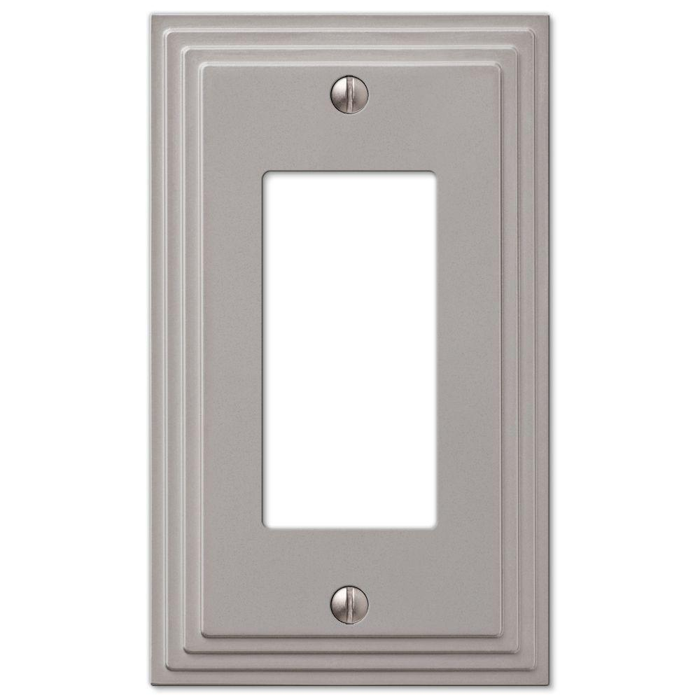 Metal Light Plates Metal  Switch Plates  Wall Plates  The Home Depot