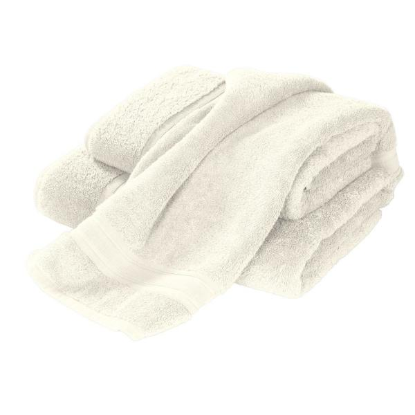 The Company Store Turkish Cotton Fingertip Towel in Ivory (Set of