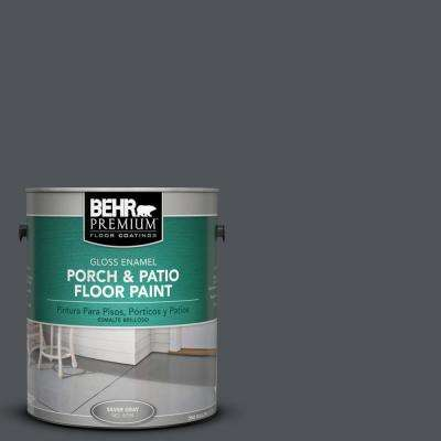 1 gal. #N510-6 Orion Gray Gloss Porch and Patio Floor Paint