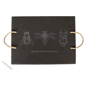 Halloween Insect Slate Serving Tray by