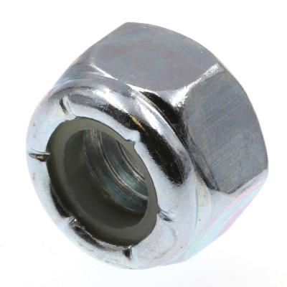 5/16 in.-18 Grade 2 Zinc Plated Steel Nylon Insert Lock Nuts (25-Pack)