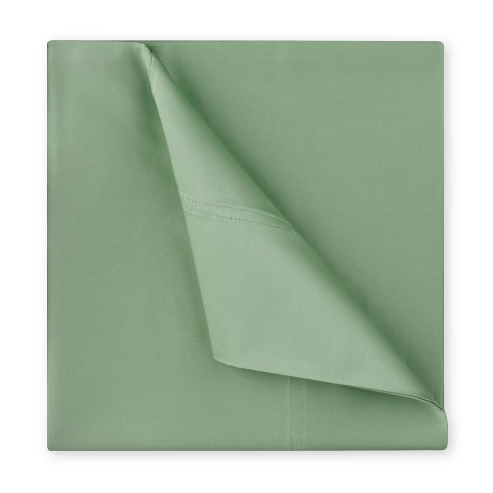Williamsburg 400-Thread-Count 6-Piece Sage Cotton Sateen King Sheet Set