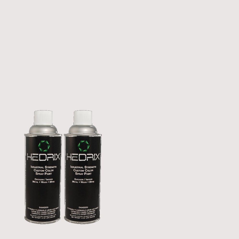 Hedrix 11 oz. Match of PPU16-6 Lilac Mist Semi-Gloss Custom Spray Paint (8-Pack)