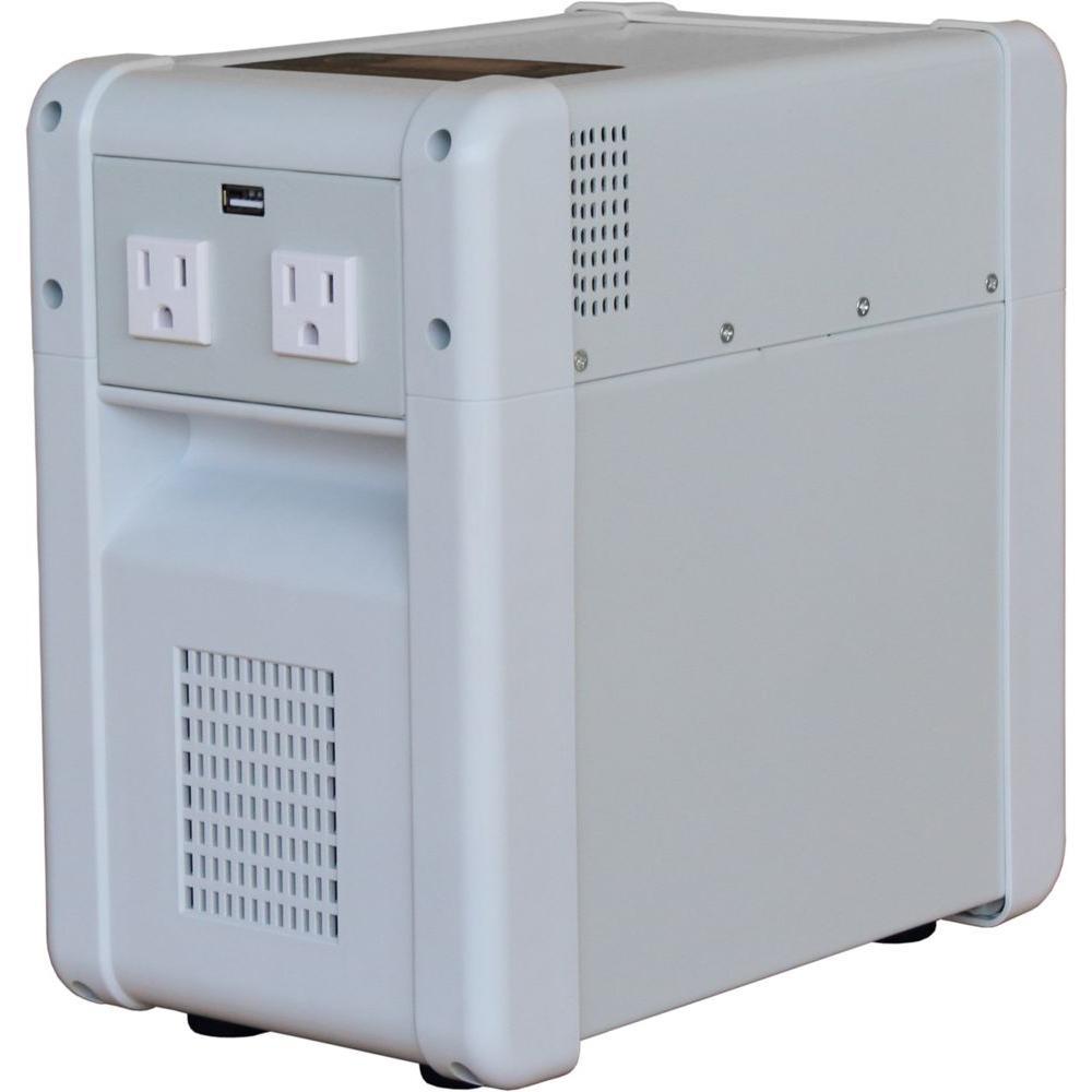 Home Solar Kit - 800-Watt Inverter, 40Ah Battery, 8 Amp Charge Controller