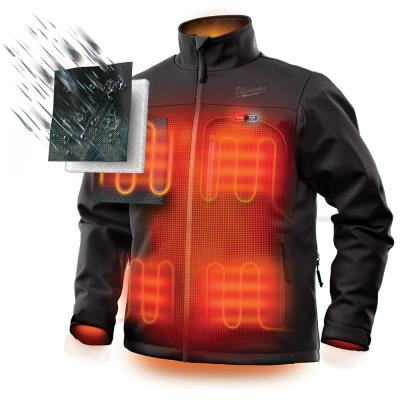 Men's M12 12-Volt Lithium-Ion Cordless Heated Jacket Kit with (1) 2.0Ah Battery and Charger