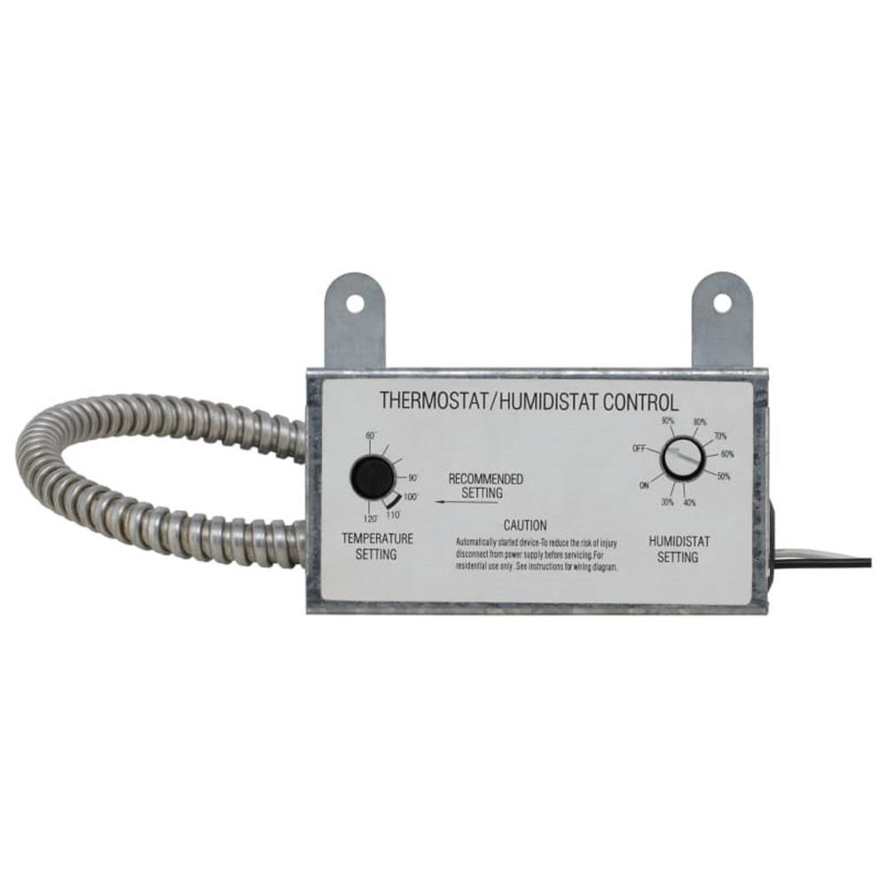 Iliving Thermostat And Humidistat Control Ilg001th The