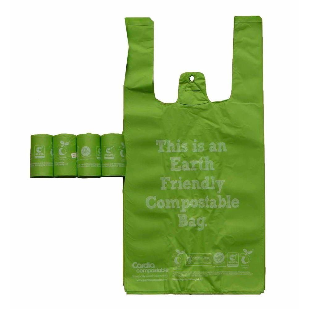 PET LIFE Recyclable and Biodegradable Eco-Friendly Pet Waste Bags from Thermoplastic Starch (4 ...