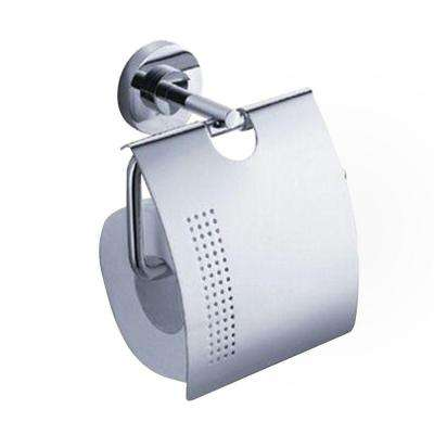 Alzato Single Post Toilet Paper Holder in Chrome