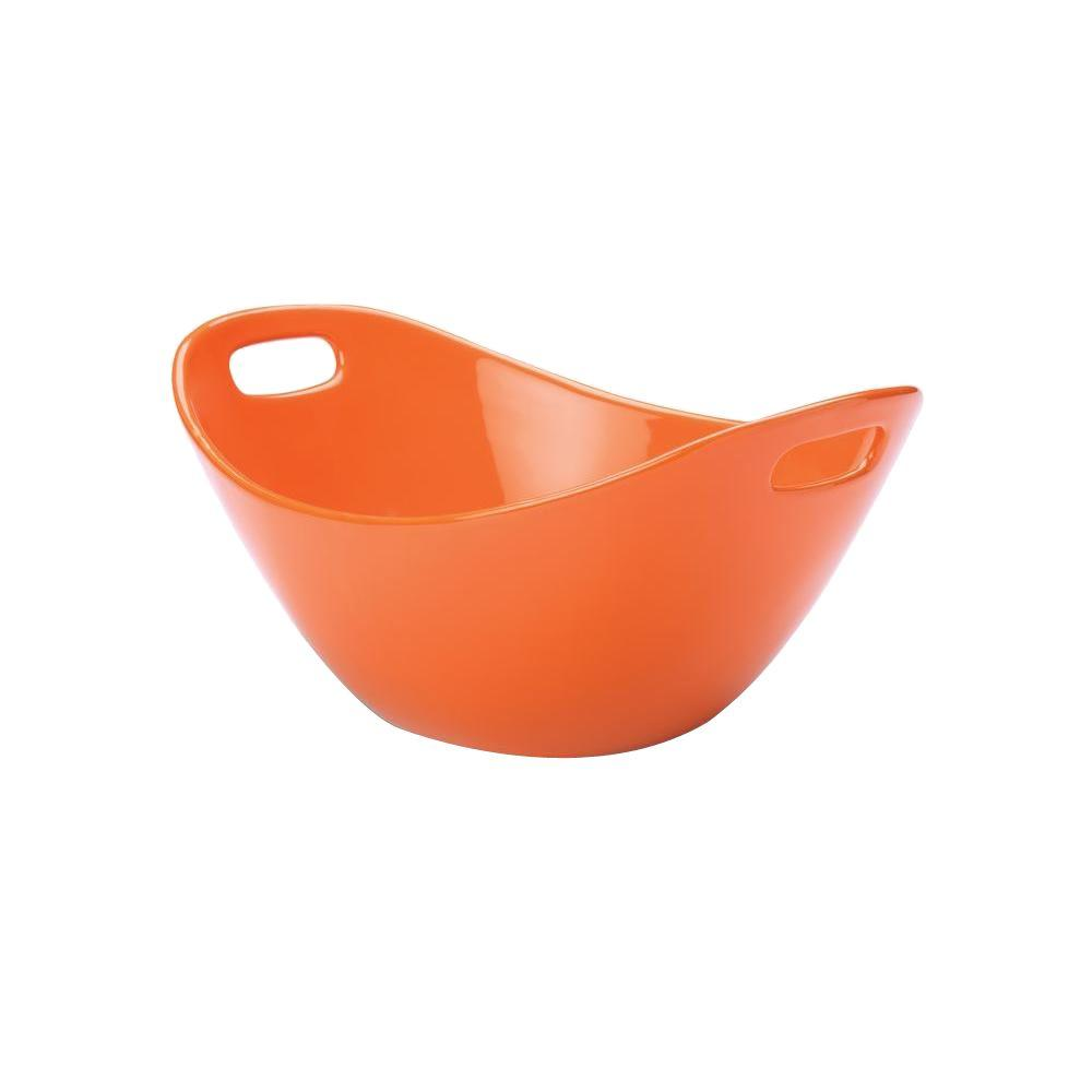 Rachael Ray 15 in. Salad Bowl in Orange