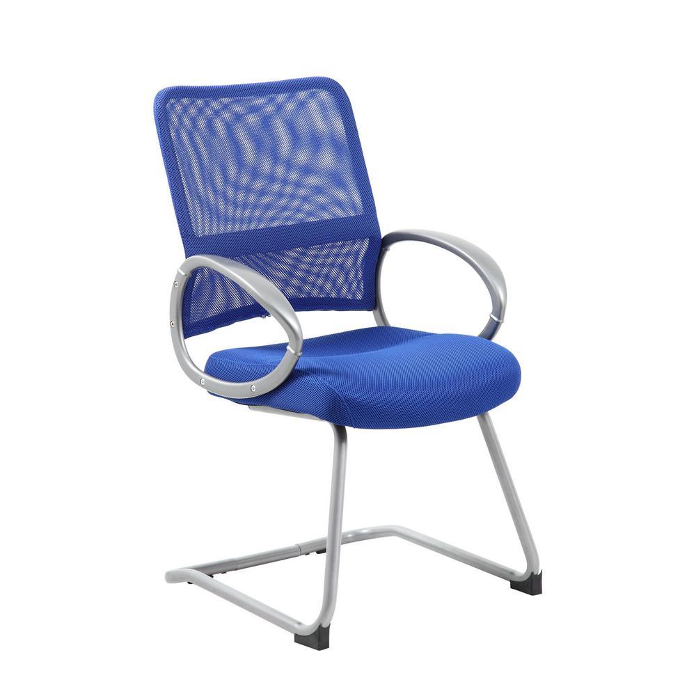 Blue Pewter Mesh Back Task Chair