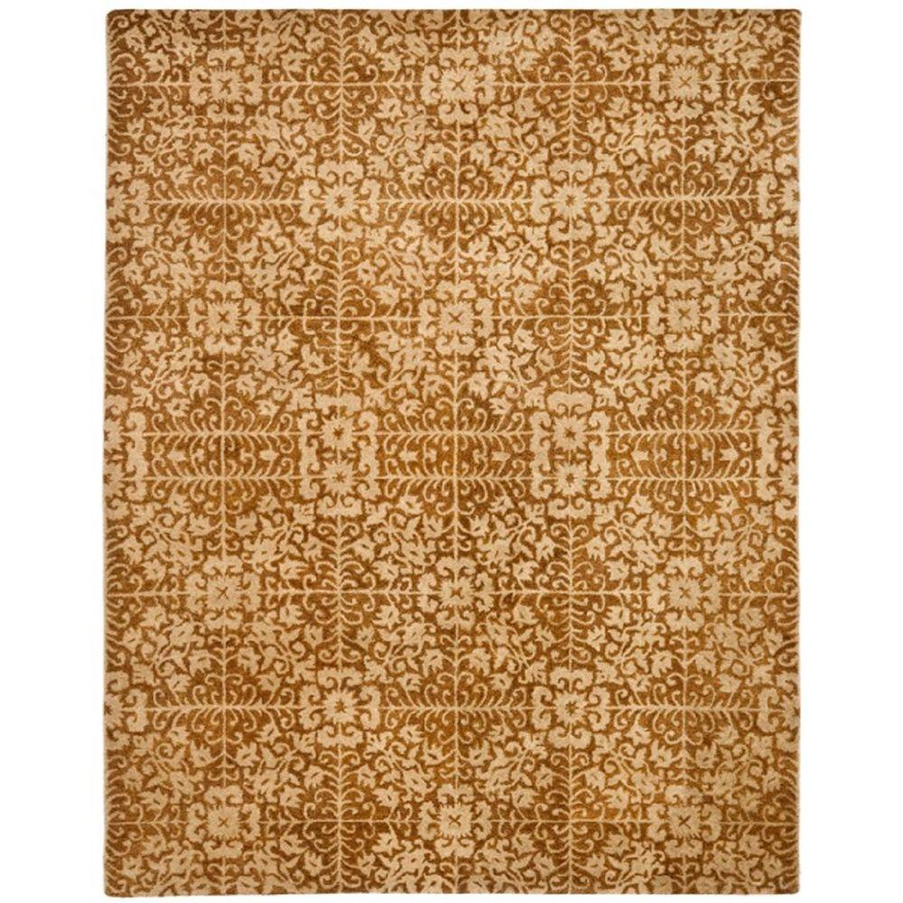 Antiquity Gold/Beige 8 ft. 3 in. x 11 ft. Area Rug