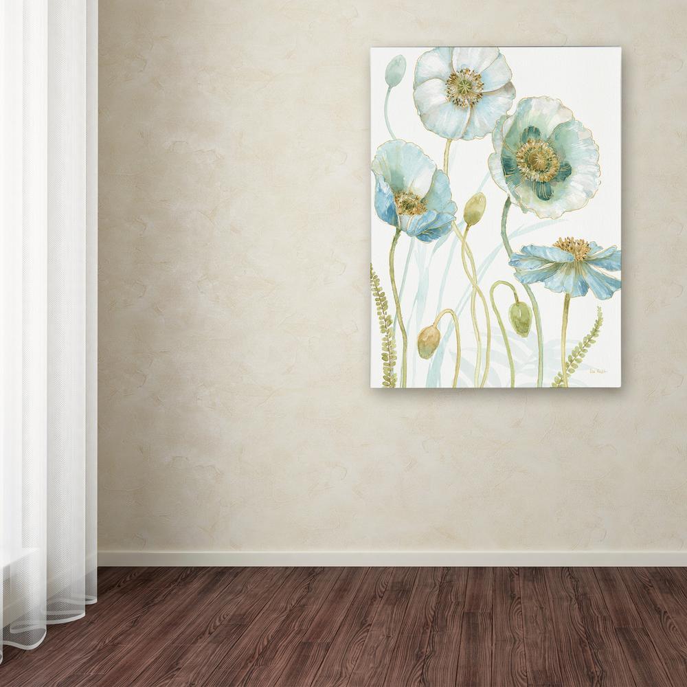 Trademark Fine Art 24 in. x 18 in. ''My Greenhouse Flowers