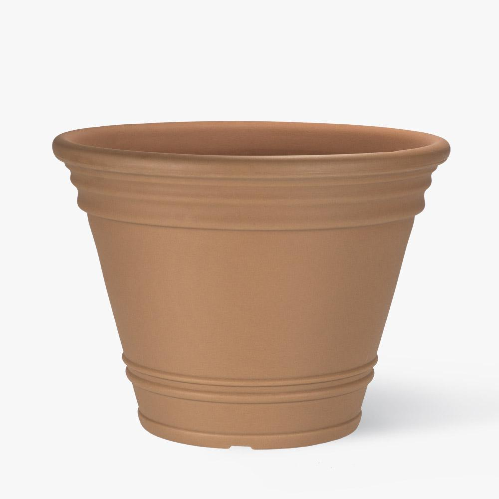 20 in. Terracotta Resin Portofino Planter