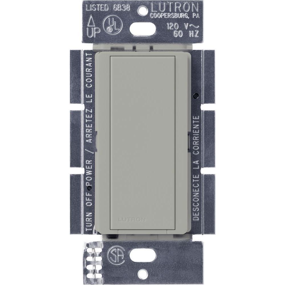 Lutron Maestro 8-Amp Multi-Location Companion Switch - Gray