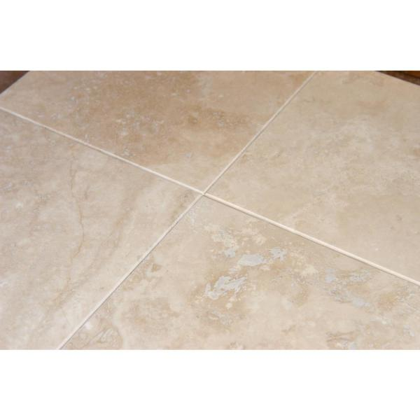 Msi Ivory 6 In X 6 In Honed Travertine Floor And Wall Tile 1 Sq Ft Case Thdw1 T Ivo 6x6 The Home Depot