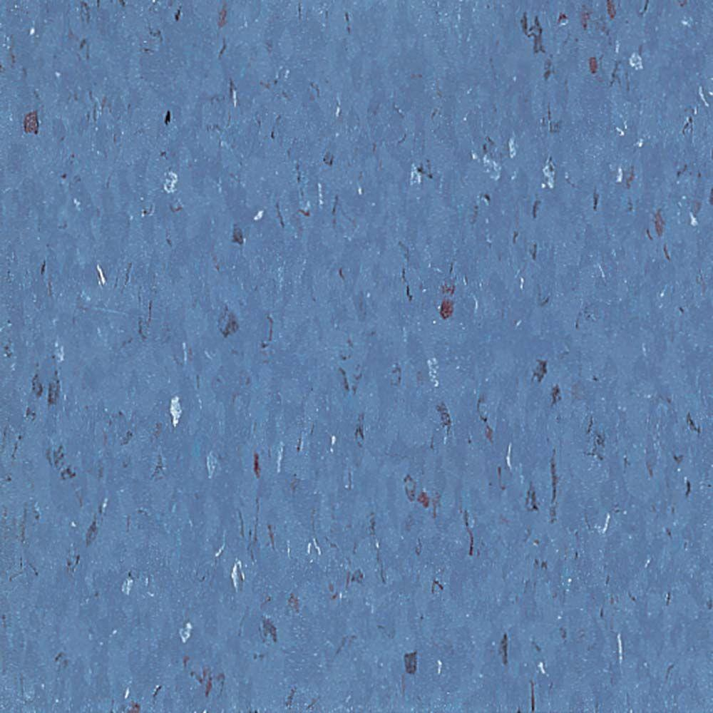 Excelon Multi 12 in. x 12 in. Band Blue Vinyl Tile