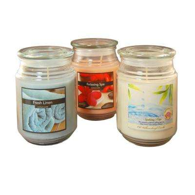 18 oz. Scented Candle Collection Fresh (3-Count)