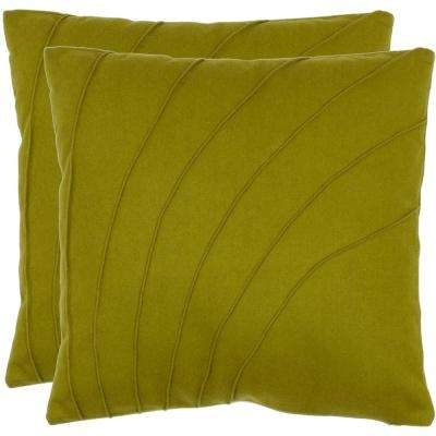 Flora Textures and Weaves Pillow (2-Pack)