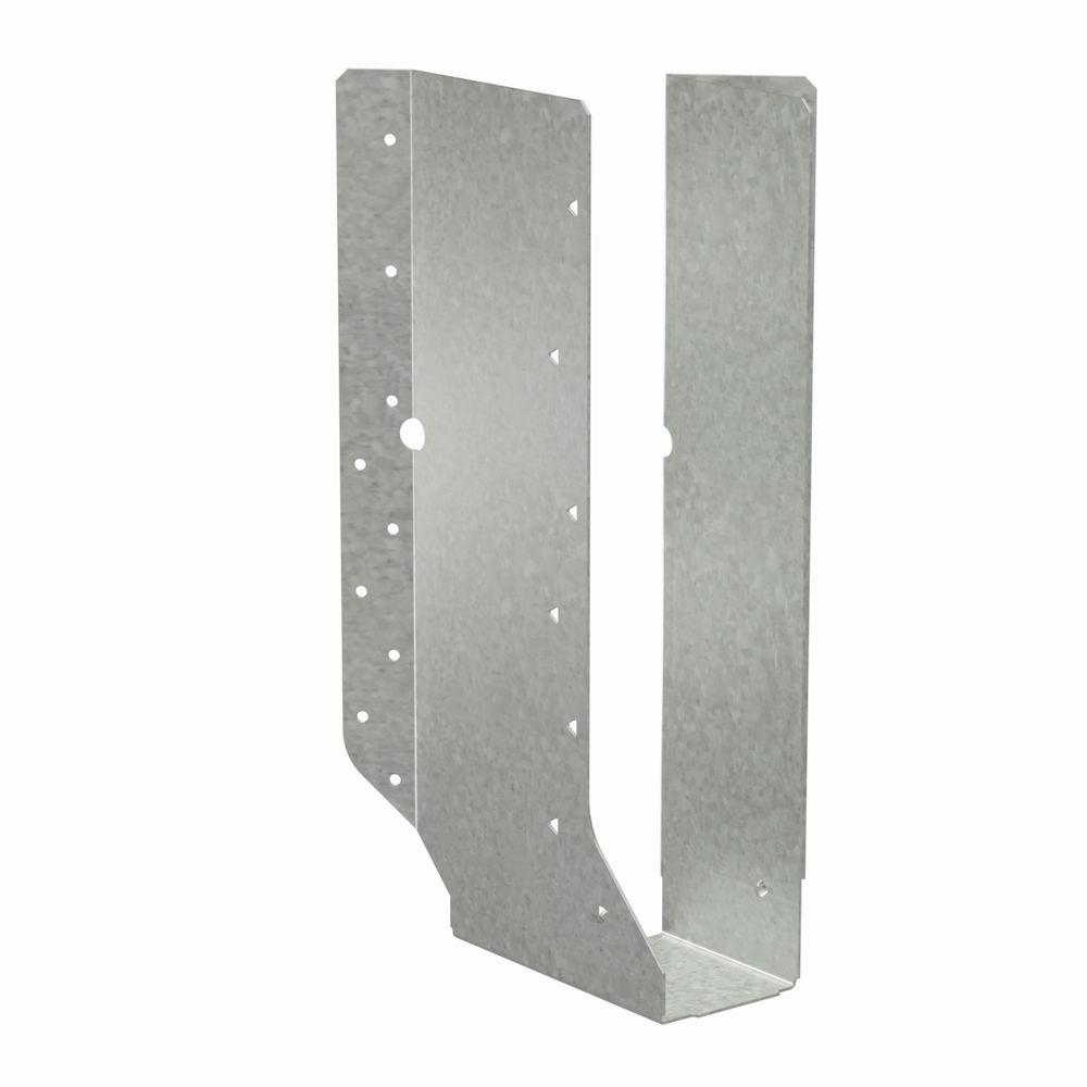 Simpson Strong-Tie SUR Galvanized Joist Hanger for 2-1/2 in. x 14 in. Engineered Wood, Skewed Right
