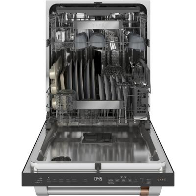 24 in. Fingerprint Resistant Matte Black Top Control Built-In Tall Tub Dishwasher 120-Volt with with 3rd Rack and 45 dBA