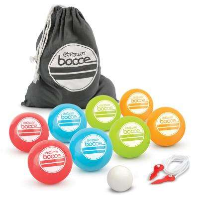 Soft Bocce Set Includes 8 Weighted Balls Pallino and Case Play Indoors or Outdoors