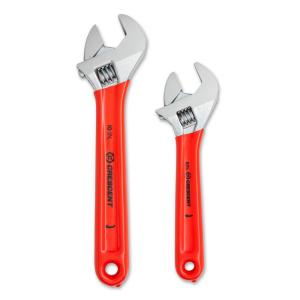 Click here to buy Crescent 6 inch and 10 inch Adjustable Wrench Set by Crescent.
