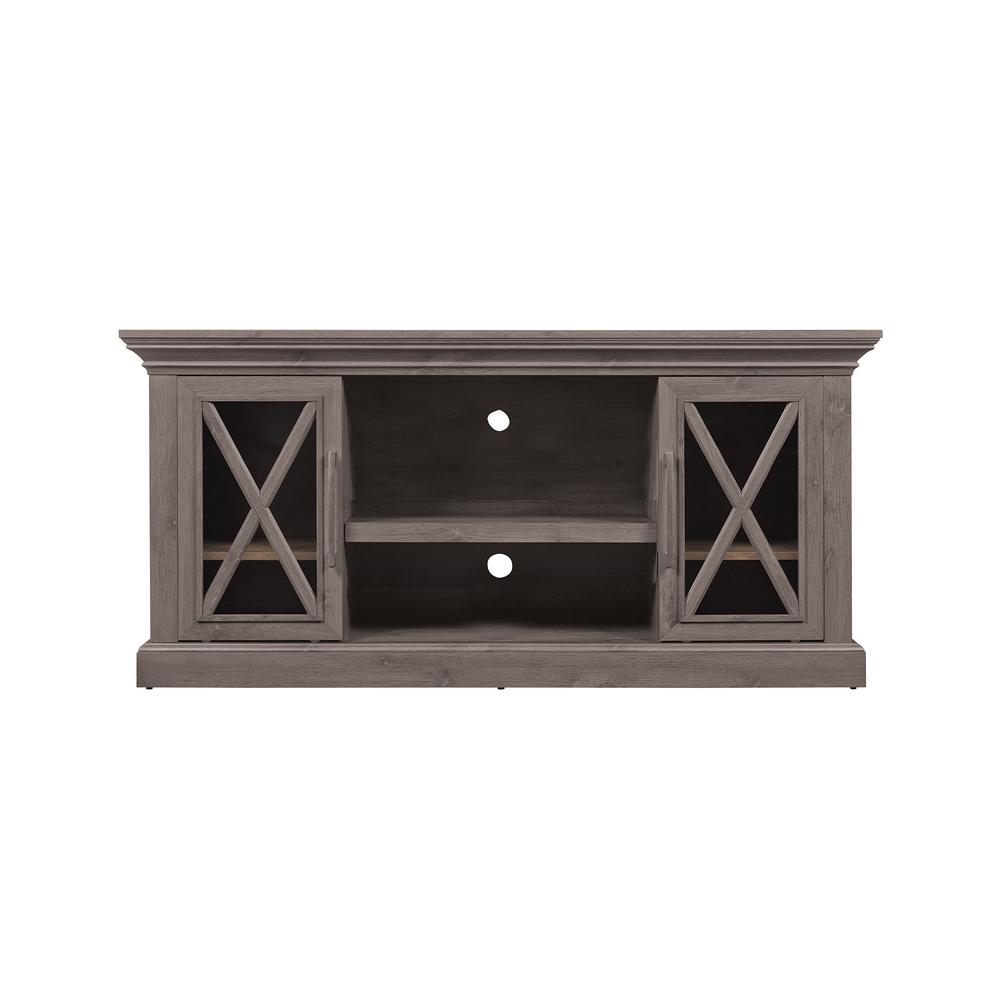BellO Bell'O Cottage Grove TV Stand for 65 in. TVs in Spanish Gray